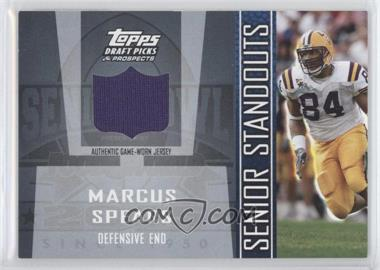 2005 Topps Draft Pick & Prospects Senior Standouts Relics #SS-MS2 - Marcus Spears
