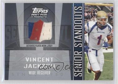 2005 Topps Draft Pick & Prospects Senior Standouts Relics #SS-VJ - Vincent Jackson
