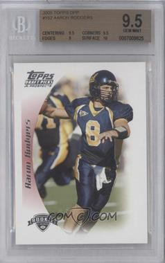 2005 Topps Draft Pick & Prospects #152 - Aaron Rodgers [BGS 9.5]