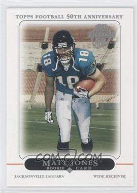 2005 Topps Factory Set Bonus Rookies #2 - Matt Jones