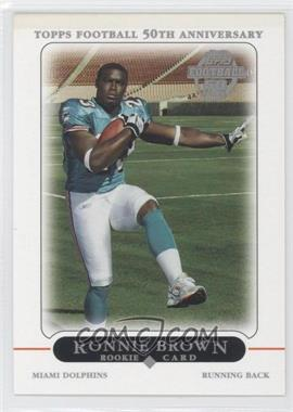 2005 Topps Factory Set Bonus Rookies #4 - Ronnie Brown