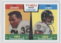 Jim Brown, Jamal Lewis