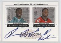 Ronnie Brown, Carnell Williams