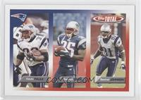 Kevin Faulk, Patrick Pass, Bethel Johnson