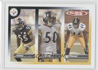 Joey Porter, Larry Foote, Alonzo Jackson