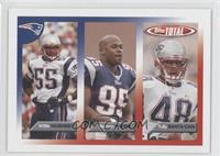 Willie McGinest, Roman Phifer, Tully Banta-Cain