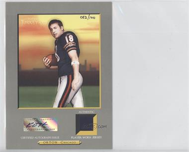2005 Topps Turkey Red Box Loader Cabinet Autographed Relics #TRAR-KO - Kyle Orton