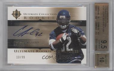 2005 Ultimate Collection - [Base] #238 - Cedric Benson /99 [BGS 9.5]