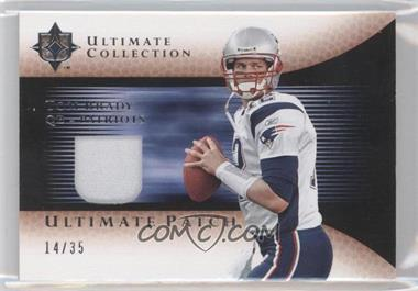 2005 Ultimate Collection - Ultimate Patch - Silver #GJP-TB - Tom Brady /35