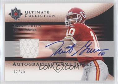 2005 Ultimate Collection Autographed Game Jersey #AGJ-TG - Trent Green /25