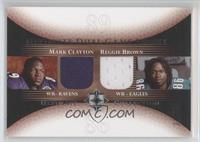 Mark Clayton, Reggie Brown /50