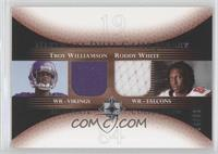 Troy Williamson, Roddy White /50