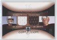 Andrew Walter, Charlie Frye /50