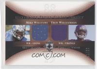 Mike Williams, Troy Williamson /50