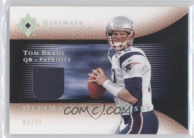 2005 Ultimate Collection Ultimate Game Jersey Spectrum #GJ-TB - Tom Brady /25
