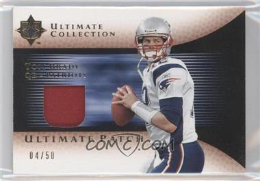 2005 Ultimate Collection Ultimate Patch #GJP-TB - Tom Brady /50