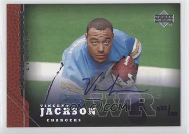 2005 Upper Deck [???] #214 - Vincent Jackson /100