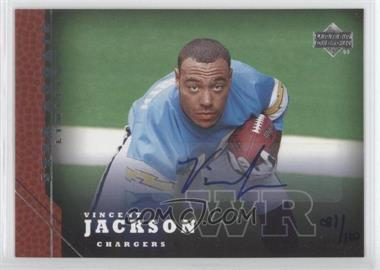 2005 Upper Deck [???] #214 - Vincent Jackson /100