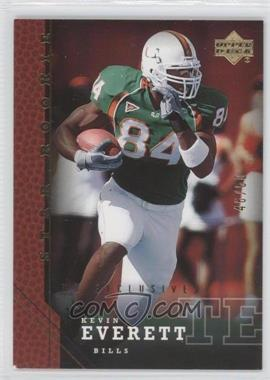 2005 Upper Deck [???] #238 - Kevin Everett /50