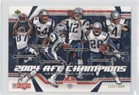 2004 AFC Champions (New England Patriots) /2004