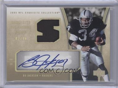 2005 Upper Deck Exquisite Collection - [???] #ESP-BJ - Bo Jackson
