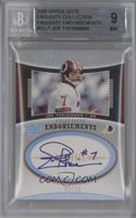 Joe Theismann /15 [BGS 9]