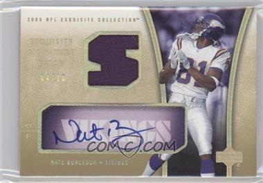 2005 Upper Deck Exquisite Collection [???] #ESP-NB - Nate Burleson /10