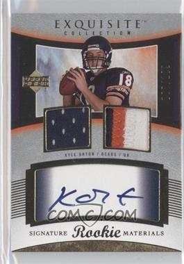 2005 Upper Deck Exquisite Collection #103 - Kyle Orton /199