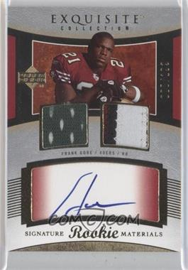 2005 Upper Deck Exquisite Collection #93 - Frank Gore /199
