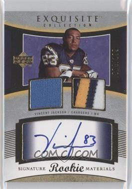 2005 Upper Deck Exquisite Collection #95 - Vincent Jackson /199