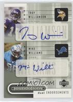 Troy Williamson, Mike Williams #44/75