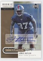 James Butler /25