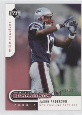 2005 Upper Deck NFL Foundations #171 - Jason Andersen /399