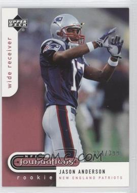 2005 Upper Deck NFL Foundations #171 - Jason Andersen /399