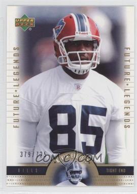 2005 Upper Deck NFL Legends [???] #143 - Kevin Everett /725