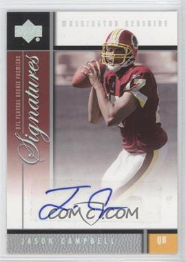 2005 Upper Deck NFL Players Rookie Premiere Signatures #RS-JC - Jason Campbell