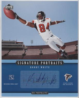 2005 Upper Deck Portraits Signature Portraits #SP-67 - Roddy White
