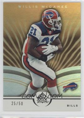 2005 Upper Deck Reflections - [Base] - Gold #12 - Willis McGahee /50