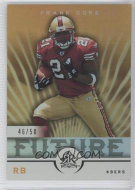 2005 Upper Deck Reflections - [Base] - Gold #243 - Frank Gore /50