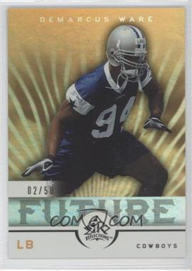 2005 Upper Deck Reflections - [Base] - Gold #264 - DeMarcus Ware /50