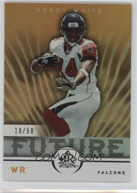 2005 Upper Deck Reflections - [Base] - Gold #294 - Roddy White /50