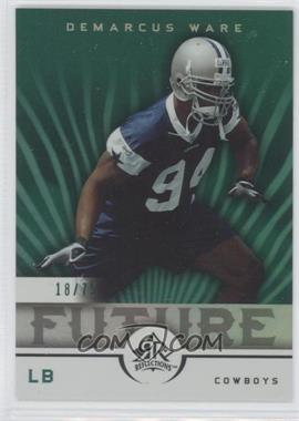 2005 Upper Deck Reflections - [Base] - Green #264 - DeMarcus Ware /75