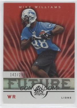 2005 Upper Deck Reflections - [Base] #285 - Mike Williams /299