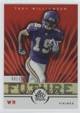 2005 Upper Deck Reflections - [Base] #293 - Troy Williamson /299