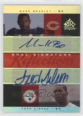 2005 Upper Deck Reflections - Dual Signature Reflections - [Autographed] #DS-BG - Fred Gibson /70