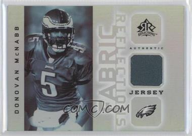 2005 Upper Deck Reflections - Fabric Reflections #FR-DM - Donovan McNabb