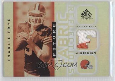 2005 Upper Deck Reflections - Future Fabric Reflections #FFR-CF - Charlie Frye