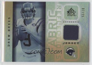 2005 Upper Deck Reflections [???] #FR-DB - Drew Brees