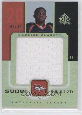 2005 Upper Deck Reflections [???] #SS-MO - Maurice Clarett /40