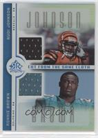 Rudi Johnson, Ronnie Brown /50